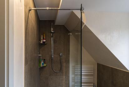 Ebenerdige Dusche, Dachgeschoss, Badezimmer, Schräge ...